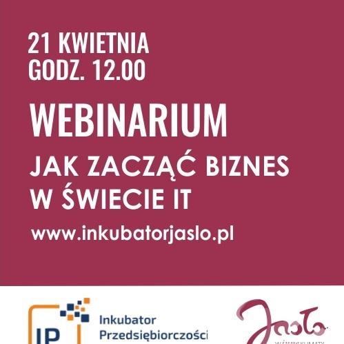 """Webinarium """"Jak zacząć biznes w świecie IT"""" za nami"""